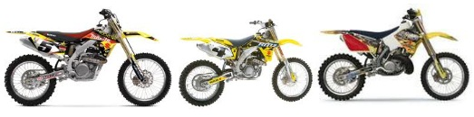 Used Suzuki Dirt Bikes and motos