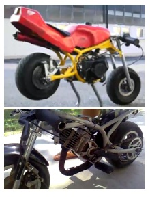 Vittorazi Pollini minimoto small bikes