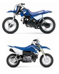 Yamaha TT R50E and Yamaha PW50