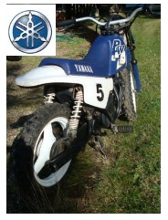 Yamaha motocross PW50 Kids dirt bike