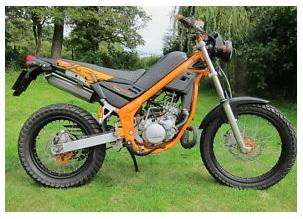 a 50cc Moped motorbike