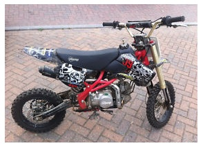 a Stomp KLX 140cc Pit Bike for sale