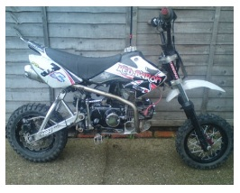 a cheap used pitbike for sale