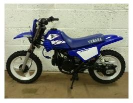 a cheap used yamaha PW50 dirt bike