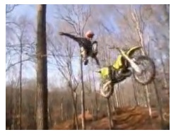 a freestyle motocross jump gone wrong