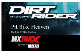 a group of motocross and dirt bike websites