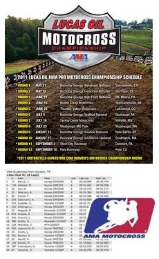 ama motocross schedule ama motocross results