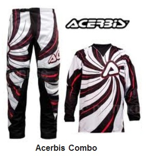 an Acerbis Combos set for motocross