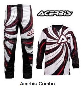 an Acerbis Combos set for motocross