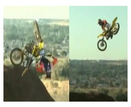 awesome Travis Pastrana fmx stunt jump