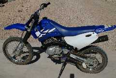 bike dirt motor yamaha