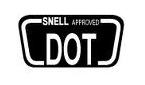 both Snell and DOT certified