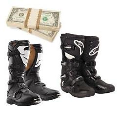cheap motocross boots dirtbike discount
