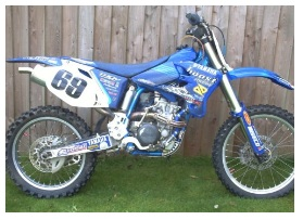 cheap used 2004 motocross bike for sale