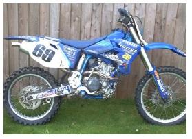 cheap used 2004 motocross bike for sale