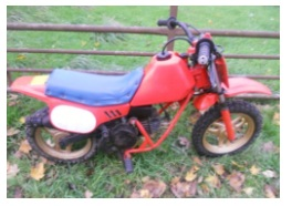 childrens mini motocross bike honda 50