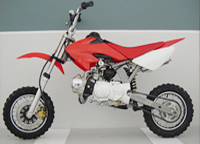 chopper type dirt bike