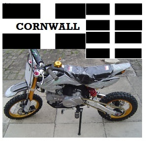 cornish mini dirt bikes in cornwall