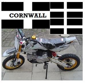 cornish mini dirt bikes in cornwall