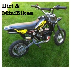 dirt and mini bikes for kids