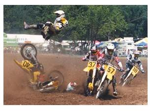 dirt bike accident
