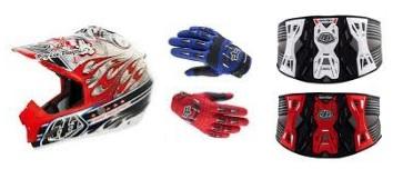 dirt bike close out helmets gloves and kidney belts