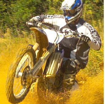 dirt bike hill climb