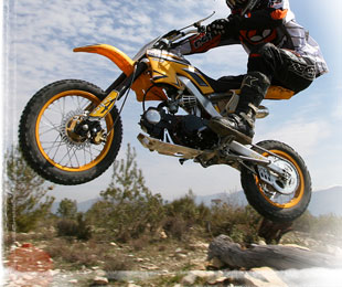 dirt bike jump