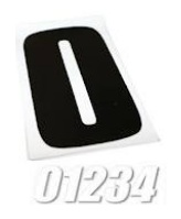 dirt bike number decals