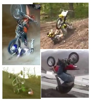 dirt bike pitbike quad crashes smashes