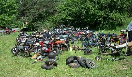 dirt bike salvage