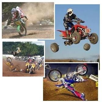 dirt bike track dirt bike crash