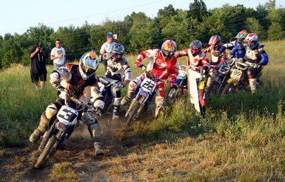 dirt bike track