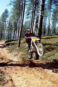 dirt bike trail