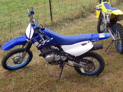 dirt bikes yamaha