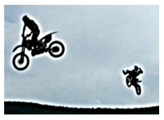 dirt ramp jumping stunting dirtbikes