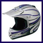 dirtbike products - a helmet.