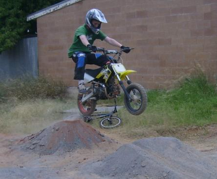 dirtbike tricks