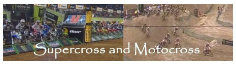 dirtbikes in Supercross and Motocross.