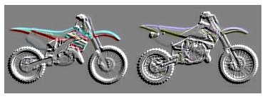 embossed dirt bike clipart for free
