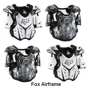 fox airframe motocross body protector