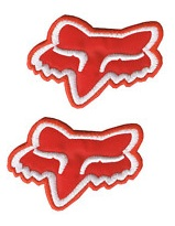 fox mx logo patches badges for motocross