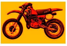 free motocross dirtbike clipart