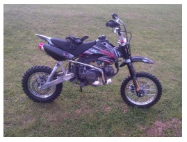 gas driven mini motocross dirtbike for kids
