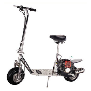gas scooters and dirt bikes