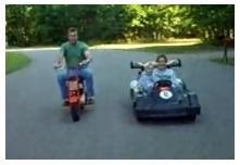 go karts and mini dirtbikes pitbike