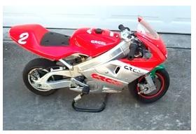 grc mini pocket motorbike