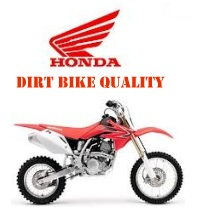 A honda dirt bike a quality brand