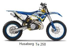 husaberg te 250 dirt bike motorcycle