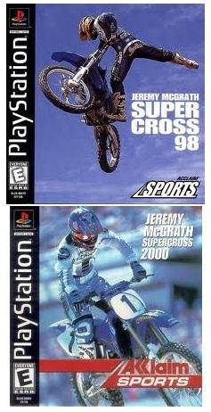 jeremy mcgrath supercross 2000 jeremy mcgrath supercross 98